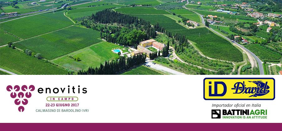 ID David participará en la feria Enovitis 2017 en Italia